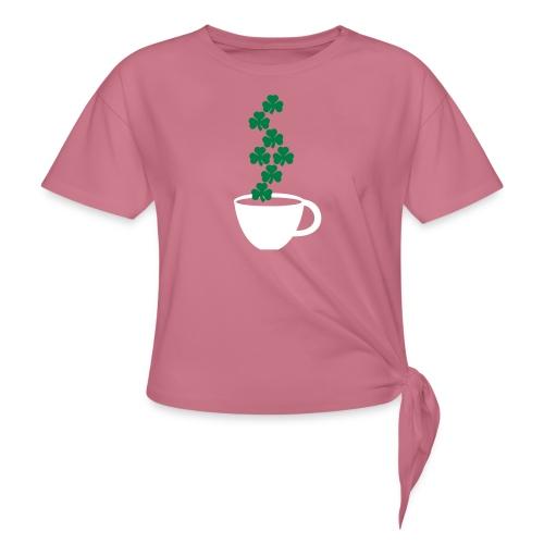 irishcoffee - Women's Knotted T-Shirt