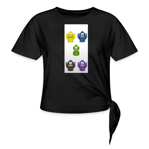 5 adiumys png - Women's Knotted T-Shirt