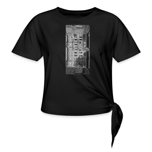 blackiphone5 - Women's Knotted T-Shirt