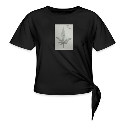 Happy 420 - Women's Knotted T-Shirt