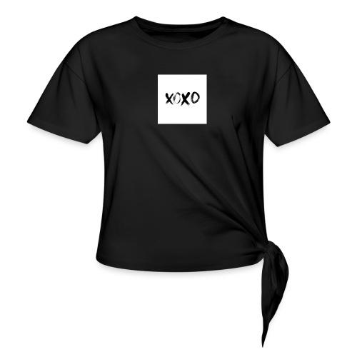 xoxo - Women's Knotted T-Shirt