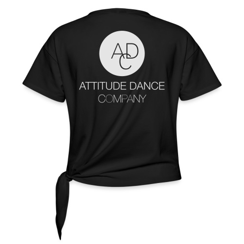 ADC Logo - Women's Knotted T-Shirt