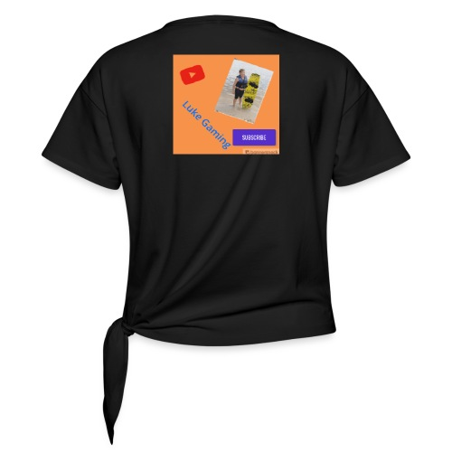 Luke Gaming T-Shirt - Women's Knotted T-Shirt