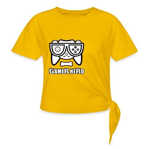 Nerds - Gamer Nerd SD - Women's Knotted T-Shirt