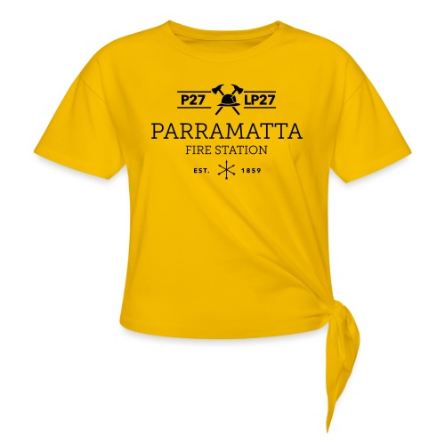 Parramatta Fire Station B - Women's Knotted T-Shirt