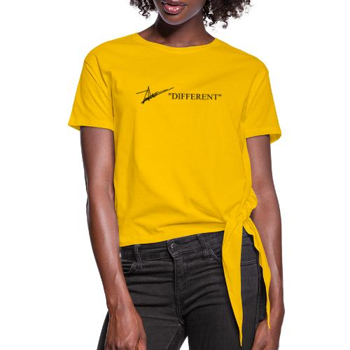 DIFFERENT - Women's Knotted T-Shirt