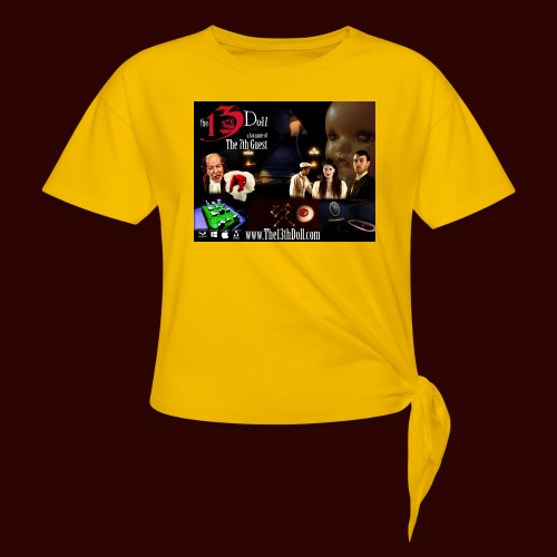 The 13th Doll Cast and Puzzles - Women's Knotted T-Shirt