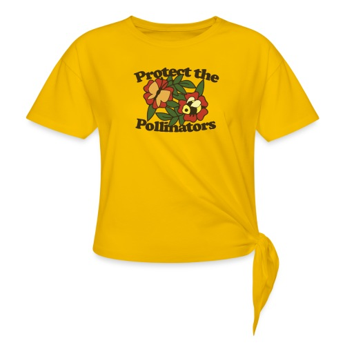 Protect the pollinators - Women's Knotted T-Shirt