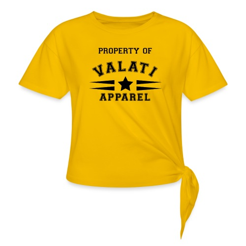 Property Of - Women's Knotted T-Shirt