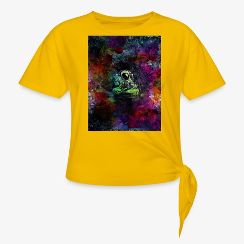 Astronaut - Women's Knotted T-Shirt