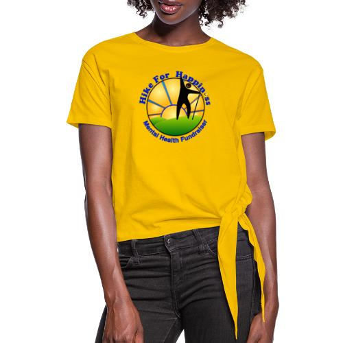 Hike Tops & Buttons - Women's Knotted T-Shirt