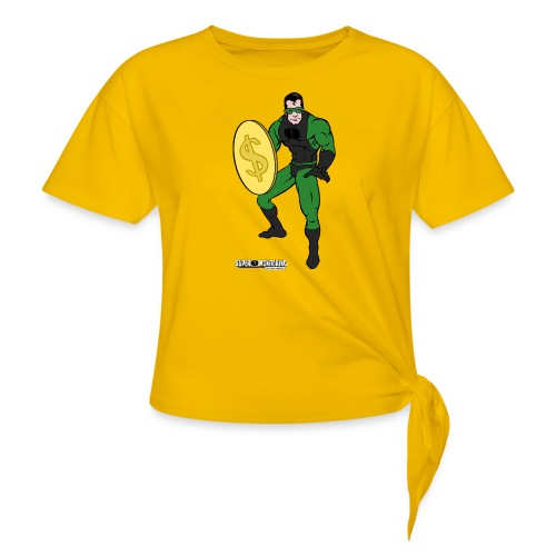 Superhero 4 - Women's Knotted T-Shirt
