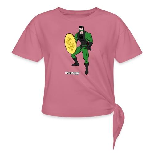 Superhero 4 - Women's Knotted T-Shirt