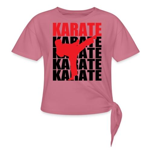 Karate - Women's Knotted T-Shirt