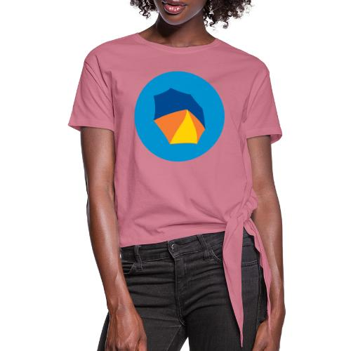 umbelas icon 2 - Women's Knotted T-Shirt