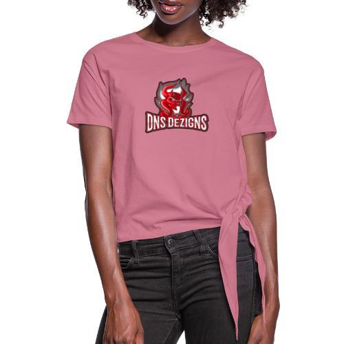 DNS Original - Women's Knotted T-Shirt