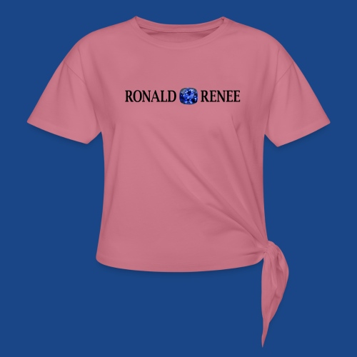 RONALD RENEE BIG - Women's Knotted T-Shirt