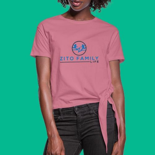 Zito Twins Shop - Women's Knotted T-Shirt