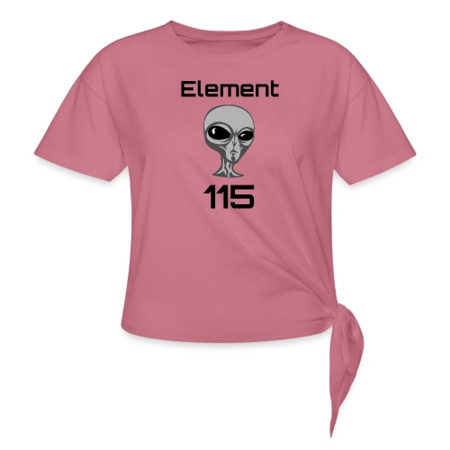 Element 115 - Women's Knotted T-Shirt