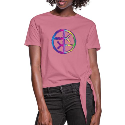 Empath Symbol - Women's Knotted T-Shirt