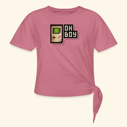 Oh Boy - Women's Knotted T-Shirt