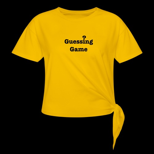 Question - Women's Knotted T-Shirt
