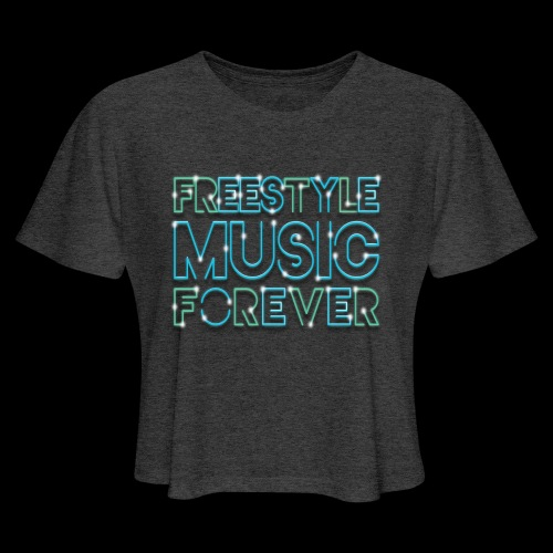 Freestyle Music Forever! - Women's Cropped T-Shirt