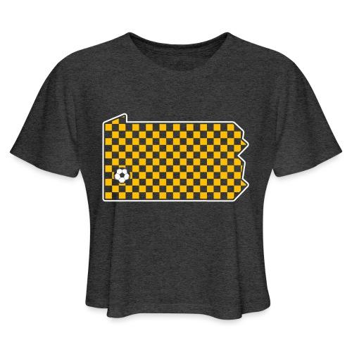 Pittsburgh Soccer - Women's Cropped T-Shirt