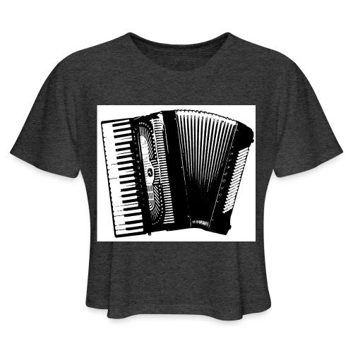 Accordian - Women's Cropped T-Shirt