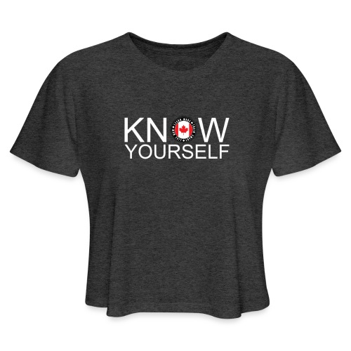 Know Yourself - Women's Cropped T-Shirt