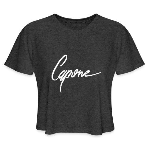 Capore final2 - Women's Cropped T-Shirt