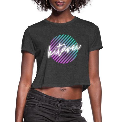 Kitarei Neon - Women's Cropped T-Shirt