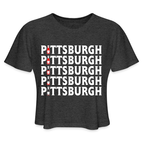 Ketch Up in PGH - Women's Cropped T-Shirt