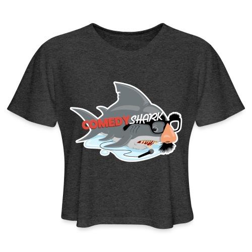 ComedyShark - Women's Cropped T-Shirt