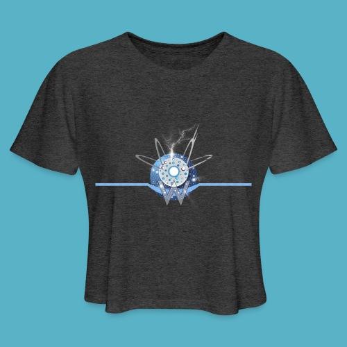 Blue Sun - Women's Cropped T-Shirt