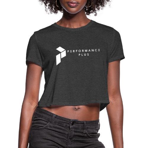 Performance Plus Logo - Women's Cropped T-Shirt