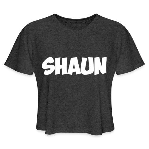 Shaun Logo Shirt - Women's Cropped T-Shirt