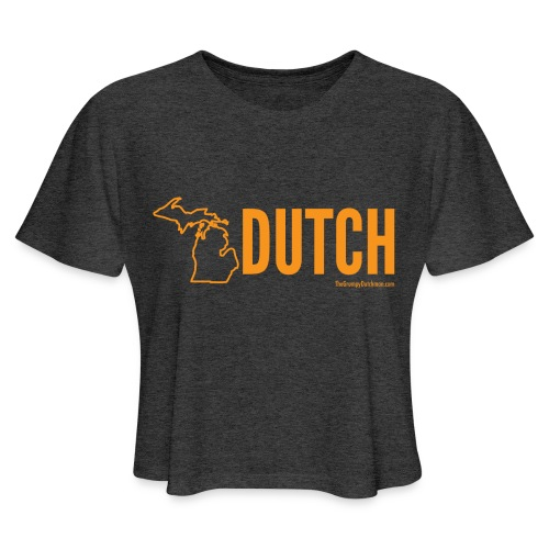 Michigan Dutch (orange) - Women's Cropped T-Shirt