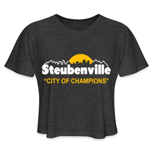 Steubenville - City of Champions - Women's Cropped T-Shirt