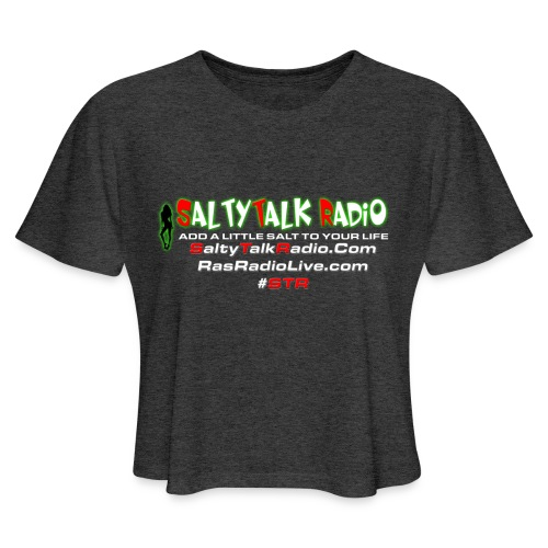 str back png - Women's Cropped T-Shirt