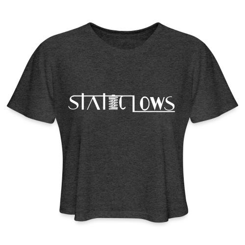 Staticlows - Women's Cropped T-Shirt