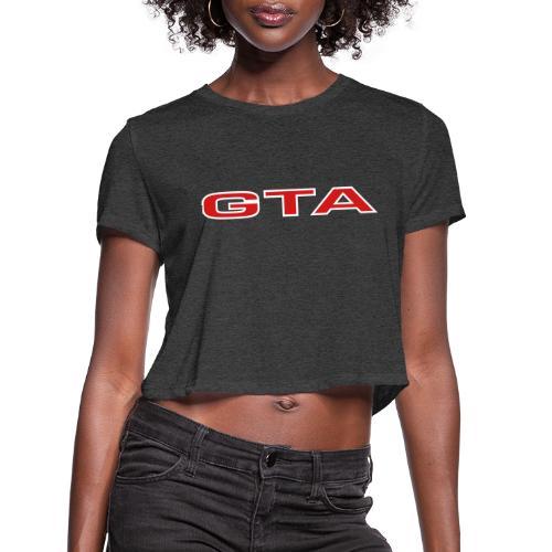 Alfa 155 GTA - Women's Cropped T-Shirt