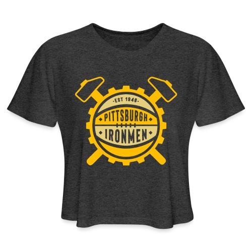 Pittsburgh Ironmen - Women's Cropped T-Shirt
