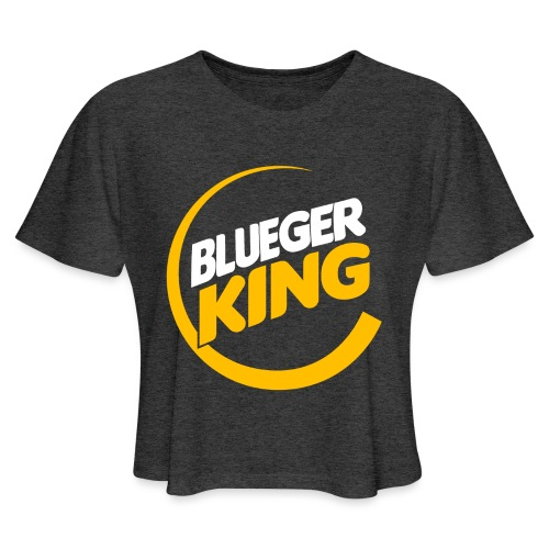 Blueger King - Women's Cropped T-Shirt