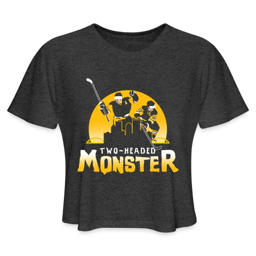 Two-Headed Monster - Women's Cropped T-Shirt