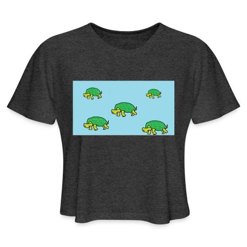 hib2 png - Women's Cropped T-Shirt