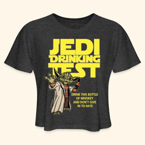 jeditest - Women's Cropped T-Shirt