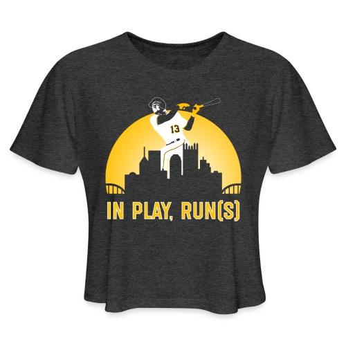 In Play, Run(s) - Women's Cropped T-Shirt