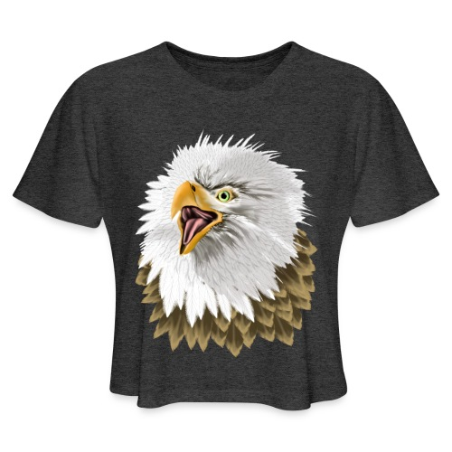 Big, Bold Eagle - Women's Cropped T-Shirt