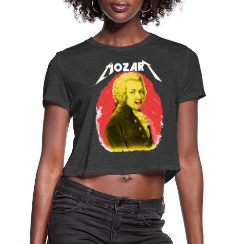 mozart - Women's Cropped T-Shirt